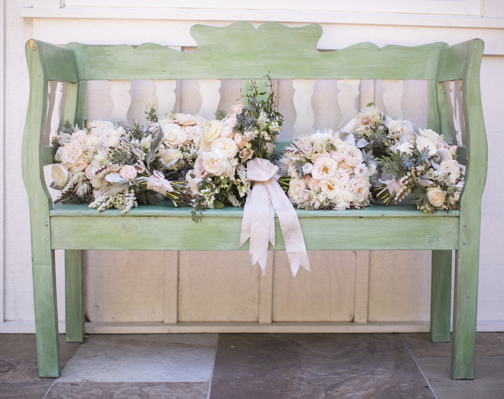 www.santabarbarawedding.com | Event of the Season | San Ysidro Ranch | Birds of a Feather | Bouquets