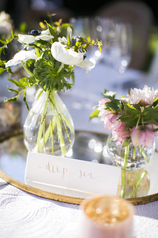 www.santabarbarawedding.com | Event of the Season | San Ysidro Ranch | Birds of a Feather | Table Names