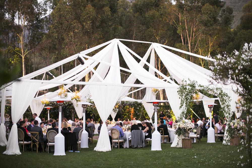 www.santabarbarawedding.com | Event of the Season | San Ysidro Ranch | Birds of a Feather | Reception
