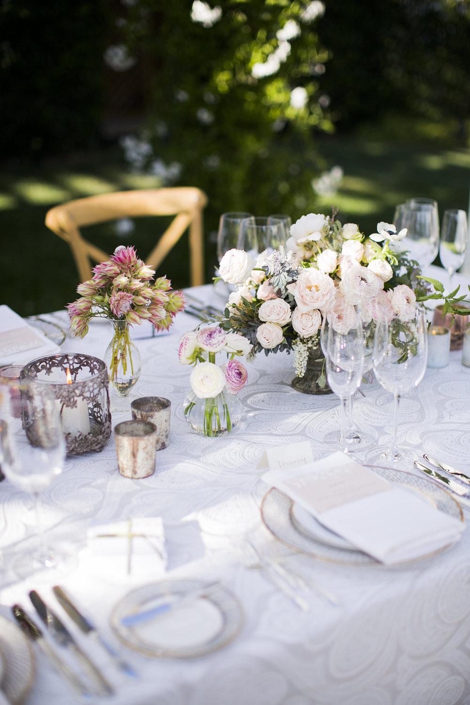 www.santabarbarawedding.com | Event of the Season | San Ysidro Ranch | Birds of a Feather | Reception Table