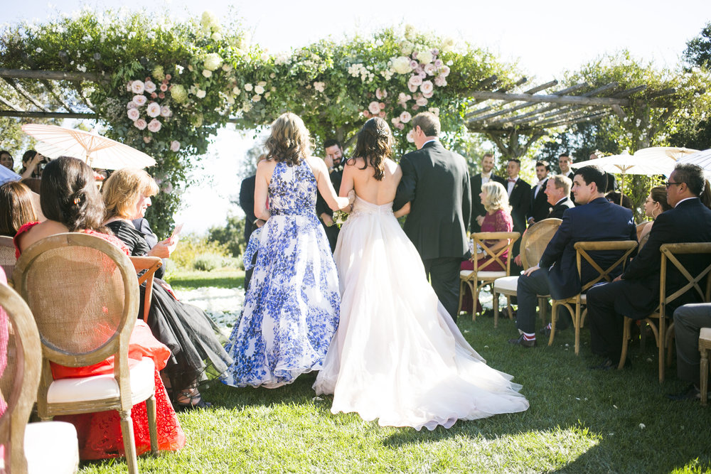 www.santabarbarawedding.com | Event of the Season | San Ysidro Ranch | Birds of a Feather | Ceremony