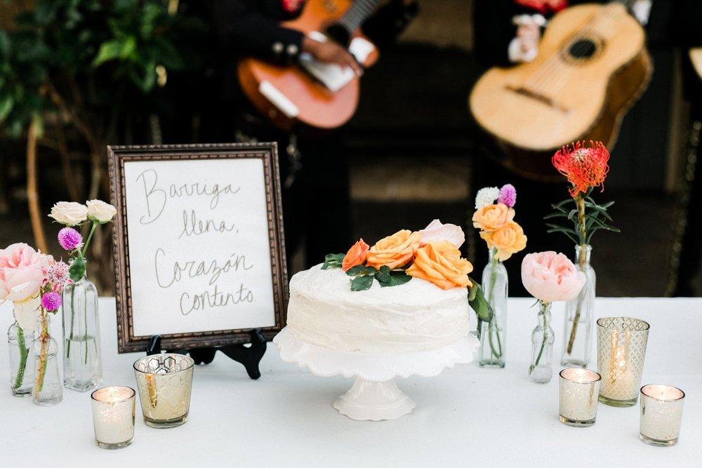 www.santabarbarawedding.com   Anna Delores   Santa Barbara Historical Museum   Wedding Cake