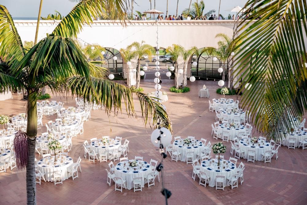 www.santabarbaraweddingstyle.com | Rewind Photography | Events by M and M | Hilton Santa Barbara | Reception