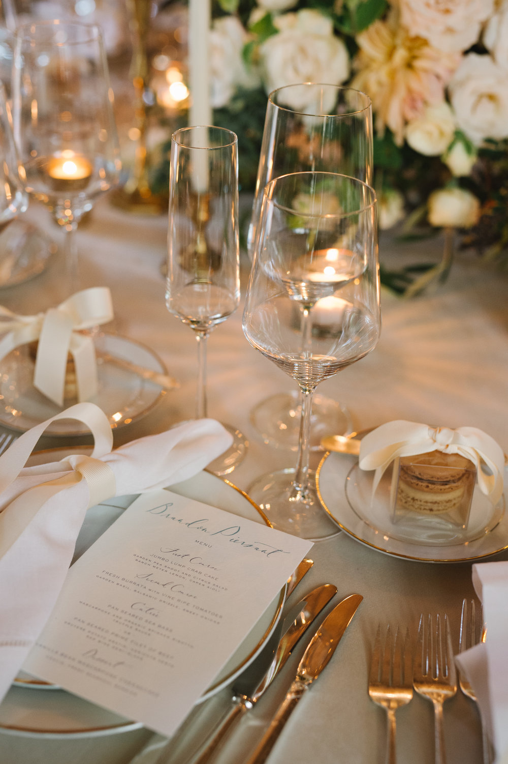 www.santabarbarawedding.com | Event of the Season | Norman and Blake | San Ysidro Ranch | Place Setting