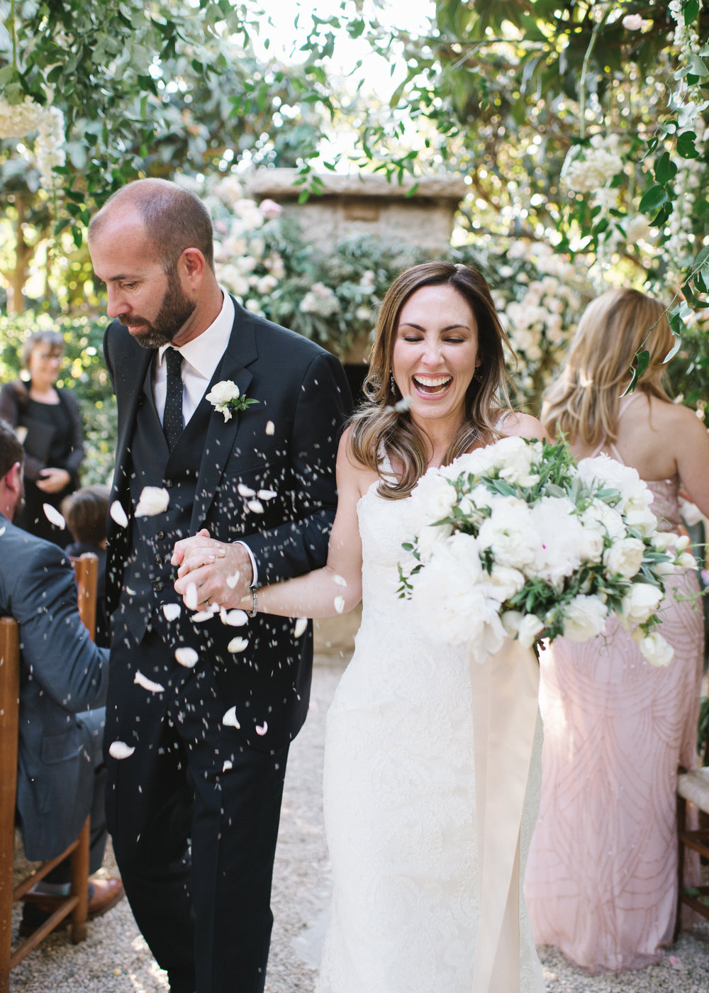 www.santabarbarawedding.com | Event of the Season | Norman and Blake | San Ysidro Ranch | Ceremony
