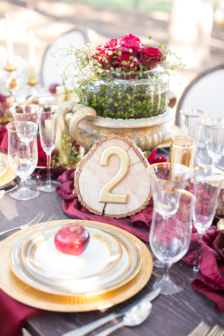 www.santabarbarawedding.com | Ann Johnson Events | Jessica Lewis Photo | Whispering Rose Ranch | Reception Table Number