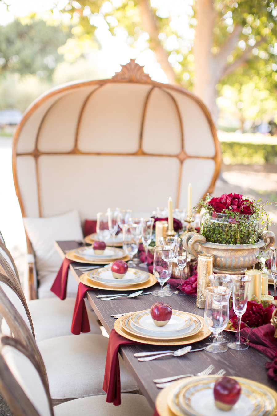 www.santabarbarawedding.com | Ann Johnson Events | Jessica Lewis Photo | Whispering Rose Ranch | Reception Table