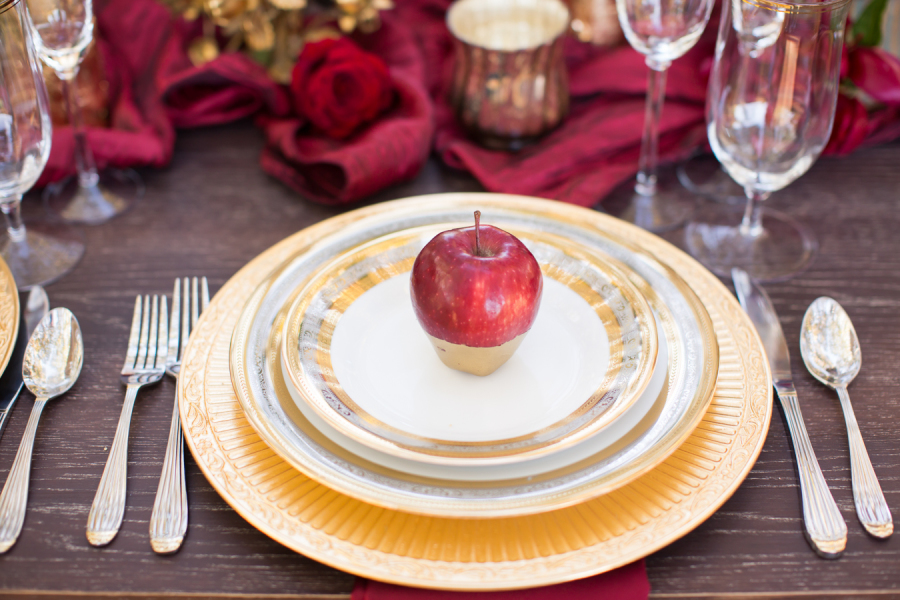 www.santabarbarawedding.com | Ann Johnson Events | Jessica Lewis Photo | Whispering Rose Ranch | Place Setting