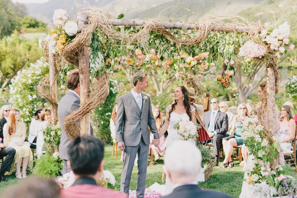 www.santabarbarawedding.com | San Ysidro Ranch | Alegria by Design | Jake + Necia Photography | Ceremony