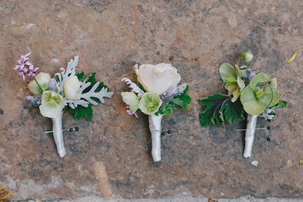 www.santabarbarawedding.com | San Ysidro Ranch | Alegria by Design | Jake + Necia Photography | Boutonnieres