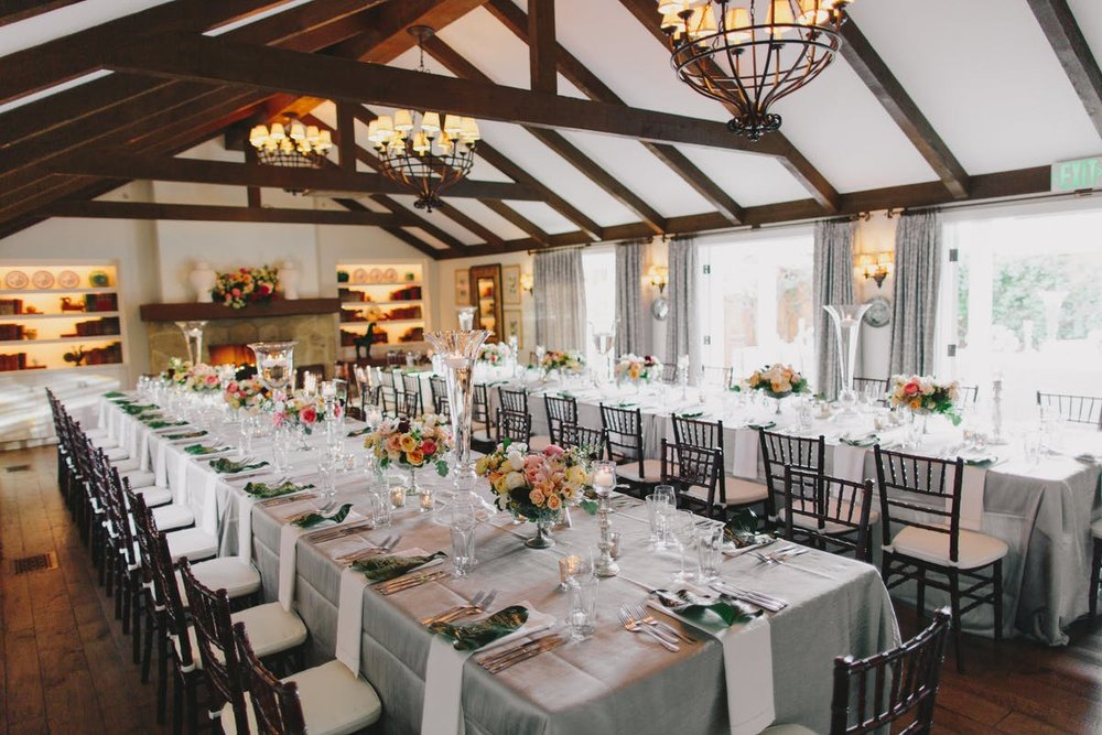 www.santabarbarawedding.com | San Ysidro Ranch | Alegria by Design | Jake + Necia Photography | Reception