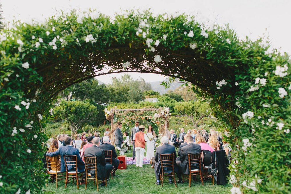 www.santabarbarawedding.com | San Ysidro Ranch | Alegria by Design | Jake + Necia Photography | Ceremony | Vows
