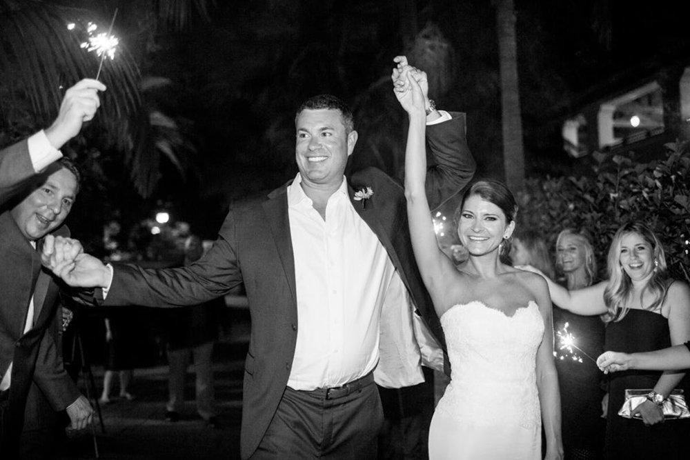 www.santabarbarawedding.com | Bacara Resort | Alegria by Design | Michael + Anna Costa | Bride and Groom Exit