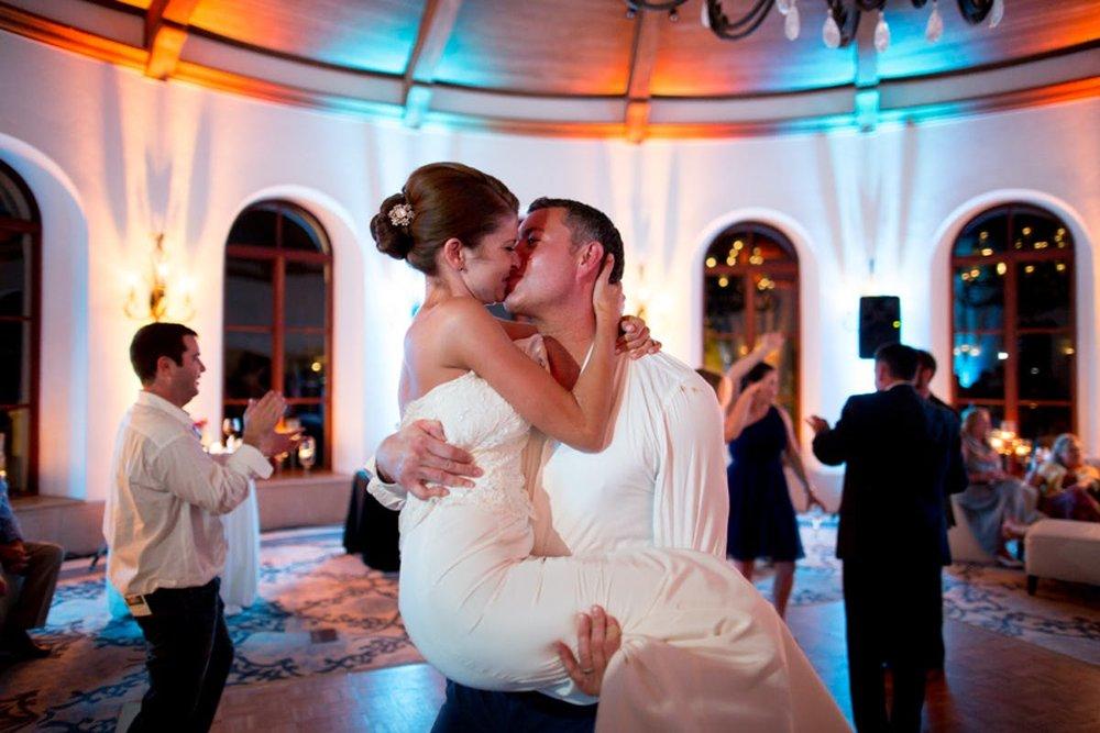 www.santabarbarawedding.com | Bacara Resort | Alegria by Design | Michael + Anna Costa | Bride and Groom Dancing