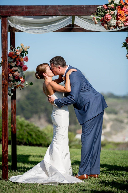 www.santabarbarawedding.com | Bacara Resort | Alegria by Design | Michael + Anna Costa | Bride and Groom | Ceremony