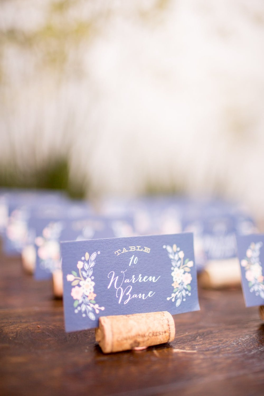 www.santabarbarawedding.com | Bacara Resort | Alegria by Design | Michael + Anna Costa | Escort Cards