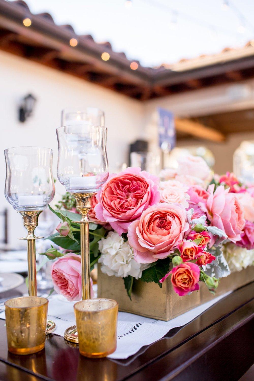 www.santabarbarawedding.com | Bacara Resort | Alegria by Design | Michael + Anna Costa | Reception Table Details
