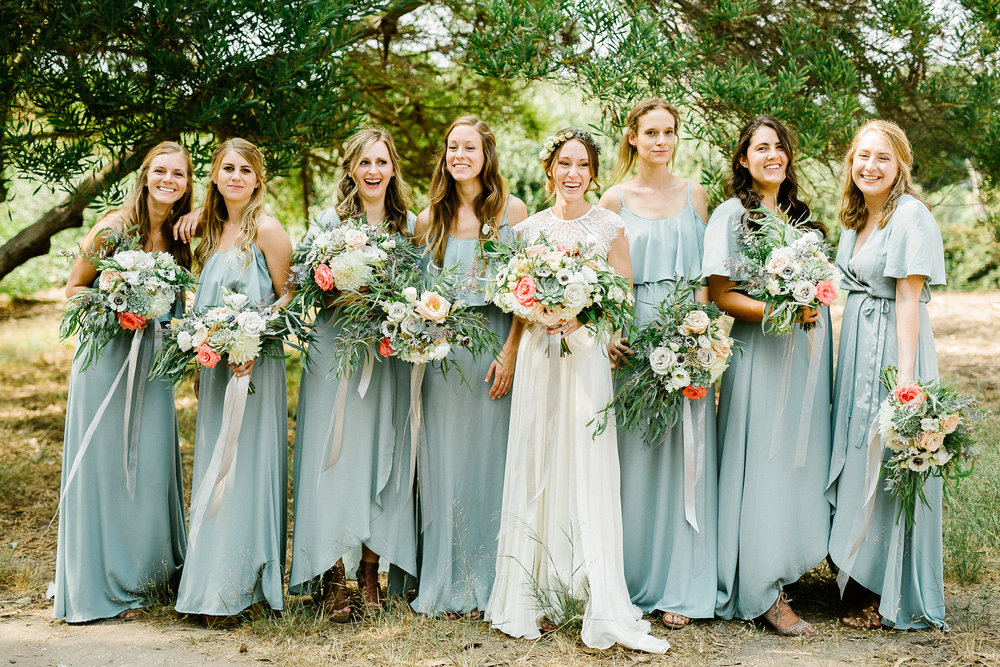 www.santabarbarawedding.com | Elings Park | Hannah Rose Gray | Bridesmaids