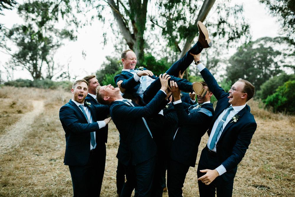 www.santabarbarawedding.com | Elings Park | Hannah Rose Gray | Groomsmen