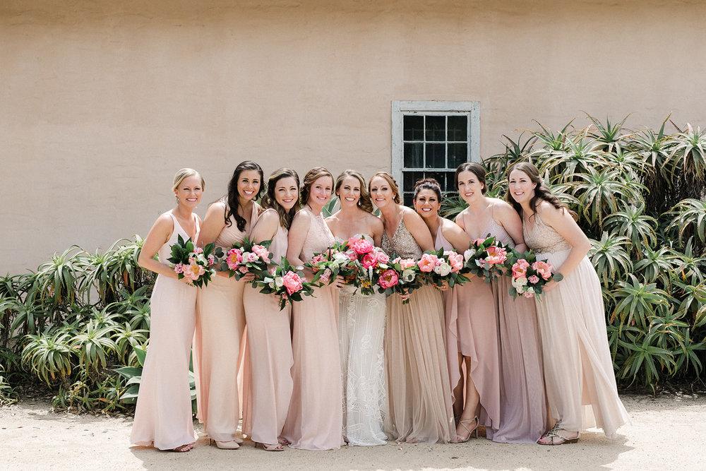 www.santabarbarawedding.com | Santa Barbara Historical Museum | Events by Rachel Korrey | Anna Delores | Bridemaids