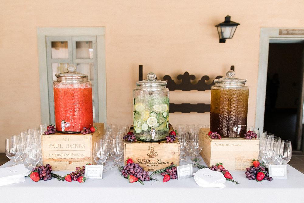 www.santabarbarawedding.com | Santa Barbara Historical Museum | Events by Rachel Korrey | Anna Delores | Drink Station