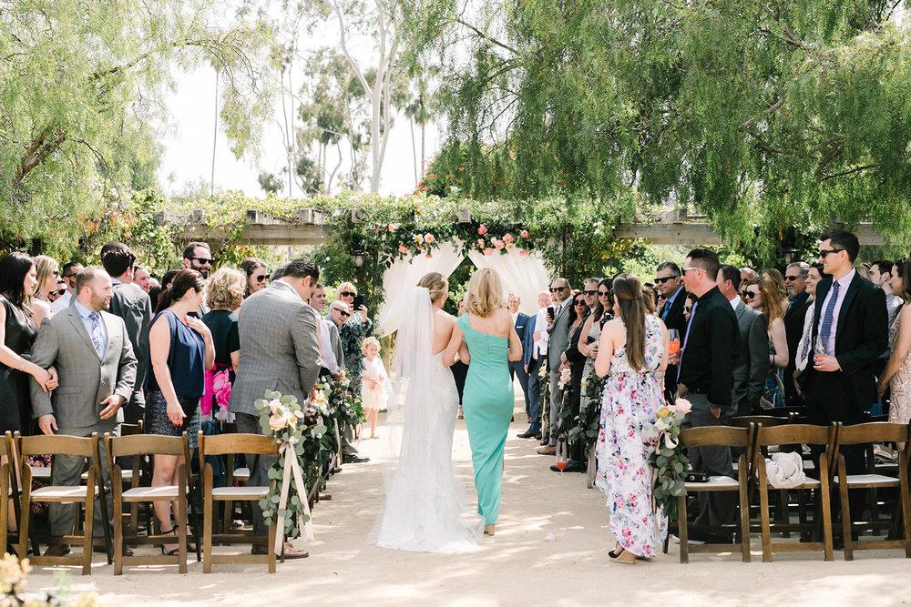 www.santabarbarawedding.com | Santa Barbara Historical Museum | Events by Rachel Korrey | Anna Delores | Ceremony