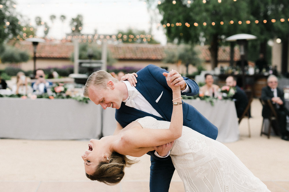 www.santabarbarawedding.com | Santa Barbara Historical Museum | Events by Rachel Korrey | Anna Delores | First Dance