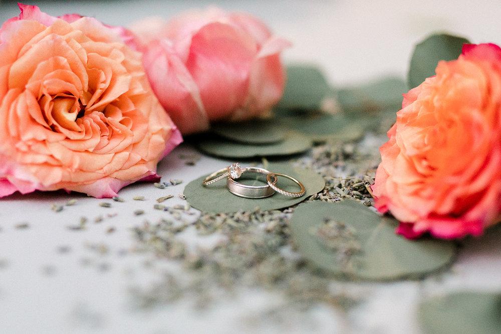 www.santabarbarawedding.com | Santa Barbara Historical Museum | Events by Rachel Korrey | Anna Delores | Wedding Rings