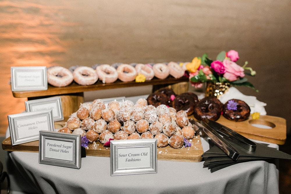 www.santabarbarawedding.com | Santa Barbara Historical Museum | Events by Rachel Korrey | Anna Delores | Donut Bar