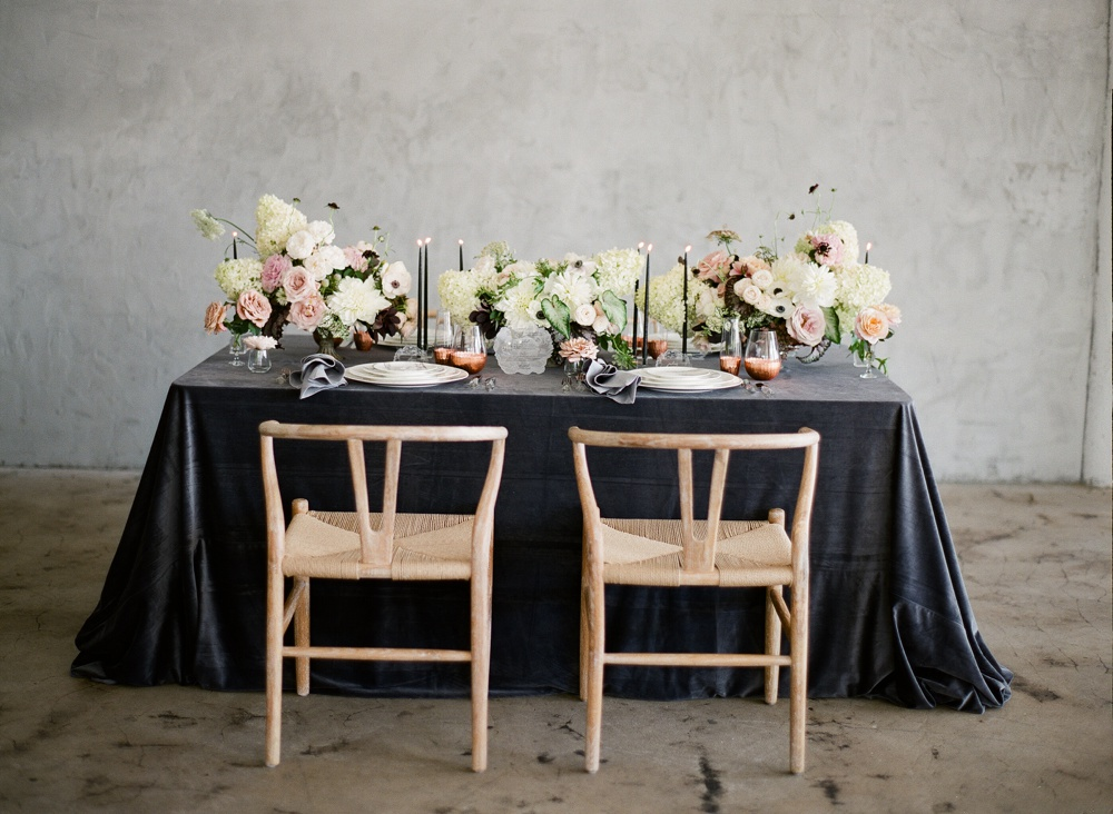 www.santabarbarawedding.com | Kristen Beinke | Jill & Co | Reception Table