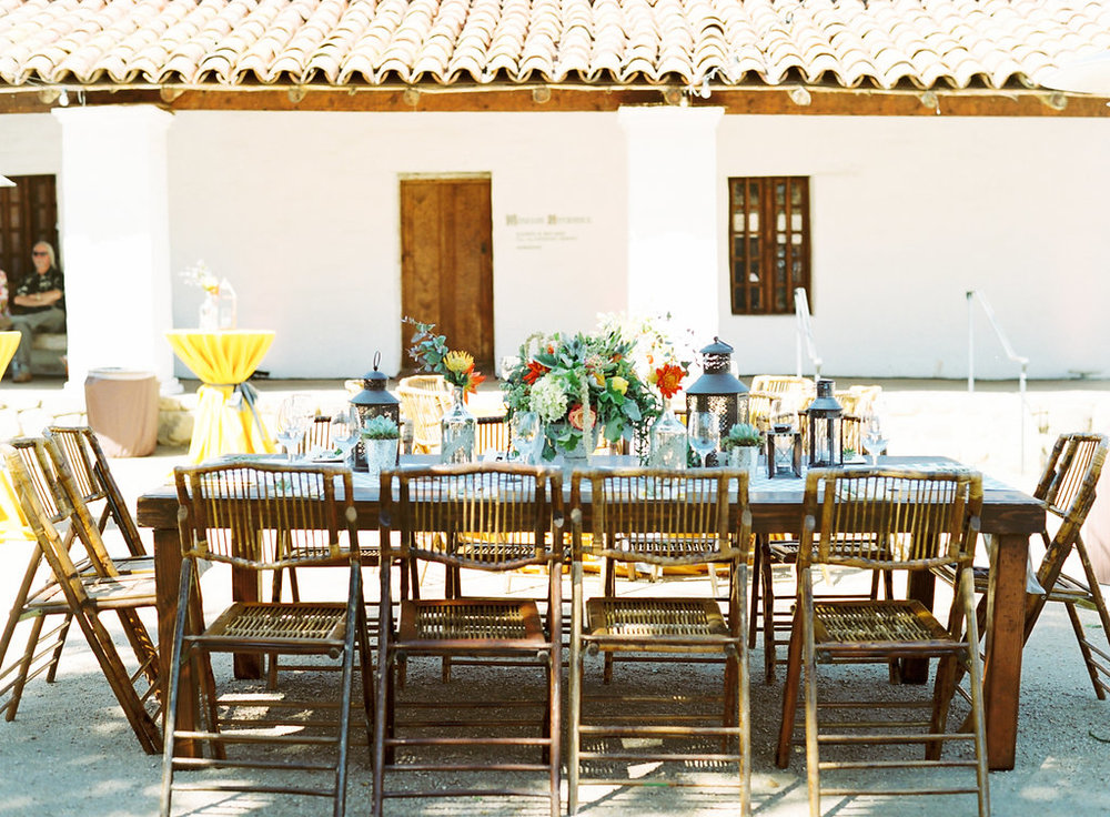 www.santabarbarawedding.com | Casa de la Guerra | Clarissa Koenig | Felici Events