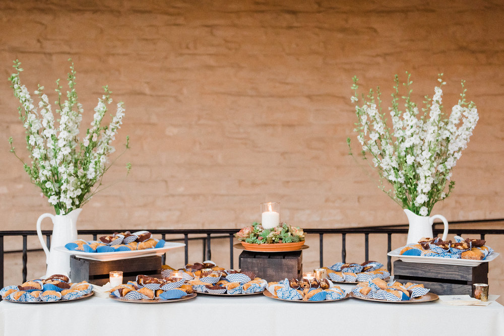 www.santabarbarawedding.com | Grace Kathryn | Santa Barbara Historical Museum | Dessert Table