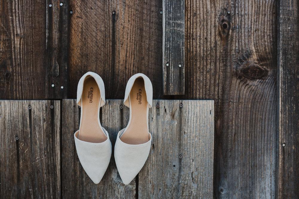 www.santabarbarawedding.com   Grace Maralyn Estate   Diana Lake Photo   Bride's Shoes