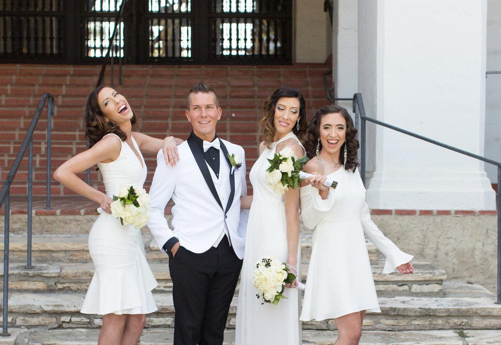 www.santabarbarawedding.com | Santa Barbara Courthouse | Crown Plaza Ventura Beach | Tiffany Michele | Bridesmaids