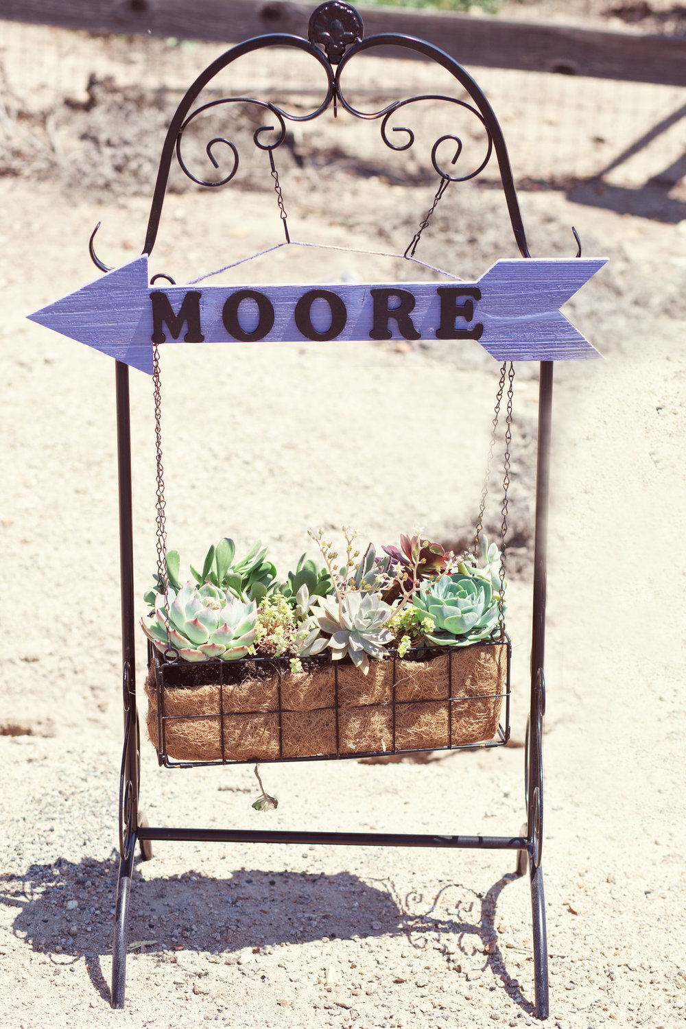 www.santabarbarawedding.com | Kay Mitchell | The Carriage House | Effortless Events | Wedding Sign