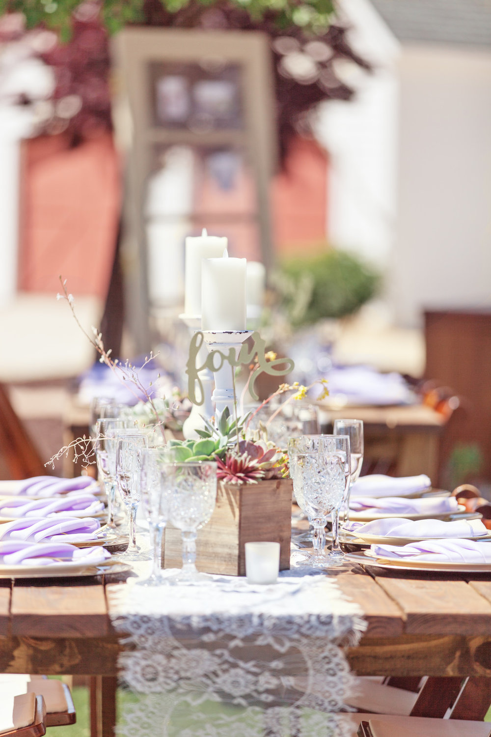 www.santabarbarawedding.com | Kay Mitchell | The Carriage House | Effortless Events | Reception Table