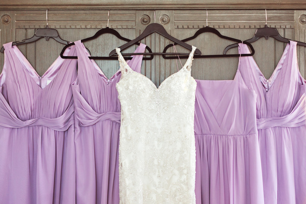 www.santabarbarawedding.com | Kay Mitchell | The Carriage House Effortless Events | Wedding Gown and Bridesmaid Dresses