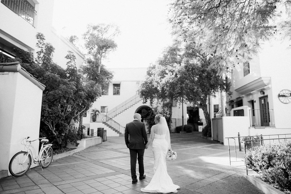 www.santabarbarawedding.com | Canary Hotel | Anna Delores Photography | Santa Barbara Wedding Coordinator | Bride and Groom