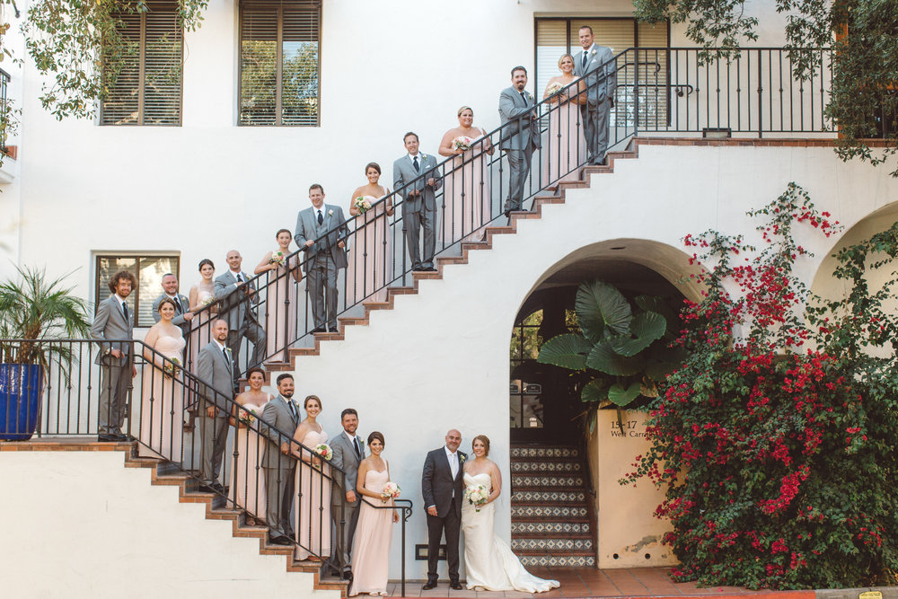 www.santabarbarawedding.com | Canary Hotel | Anna Delores Photography | Santa Barbara Wedding Coordinator | Wedding Party