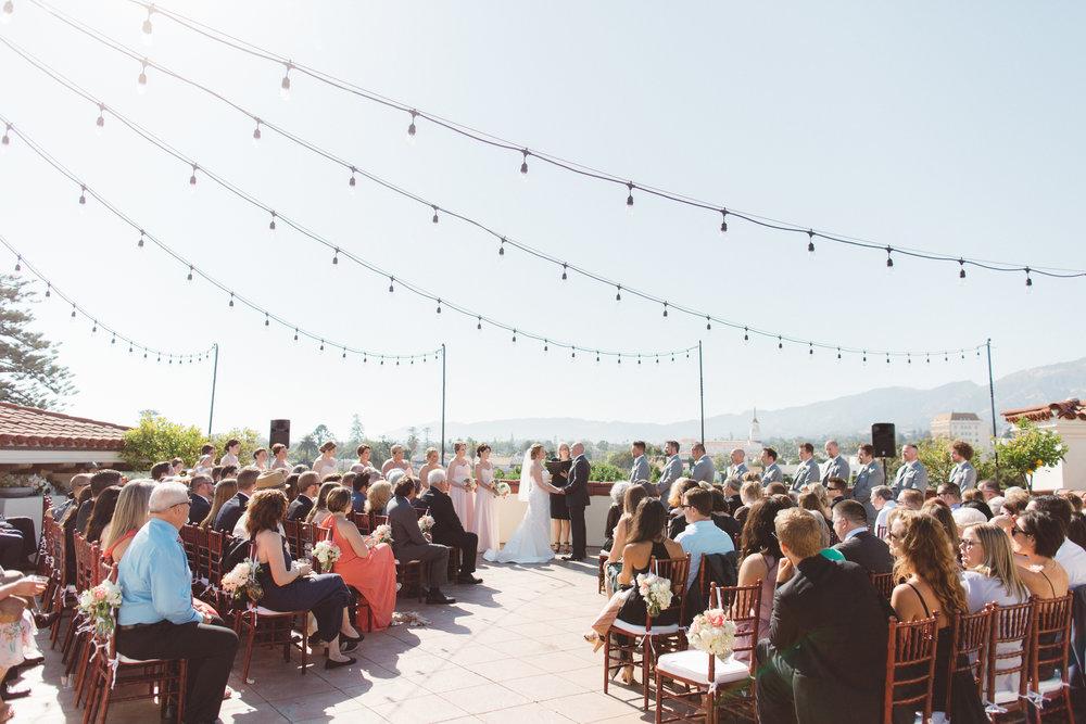 www.santabarbarawedding.com | Canary Hotel | Anna Delores Photography | Santa Barbara Wedding Coordinator | Ceremony
