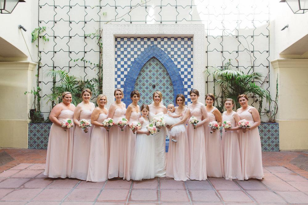 www.santabarbarawedding.com | Canary Hotel | Anna Delores Photography | Santa Barbara Wedding Coordinator | Bridesmaids