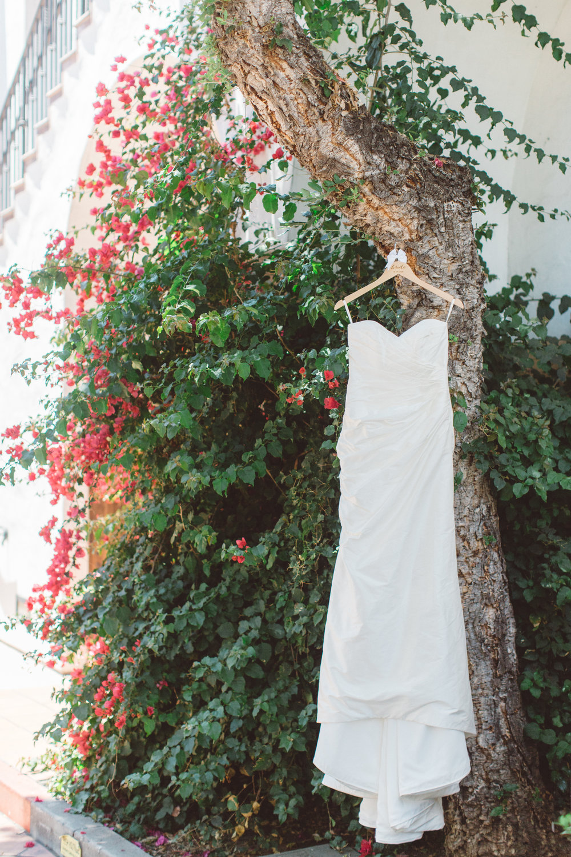 www.santabarbarawedding.com | Canary Hotel | Anna Delores Photography | Santa Barbara Wedding Coordinator | Wedding Gown