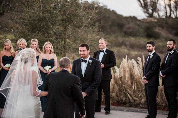 www.santabarbarawedding.com | Soigne Productions | Presqu'ile Winery | Wade Carr Photo | Ceremony