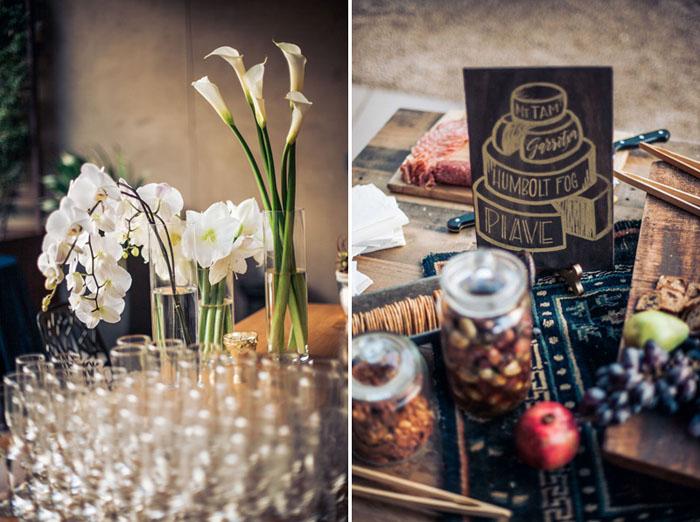 www.santabarbarawedding.com | Soigne Productions | Presqu'ile Winery | Wade Carr Photo | Reception Details