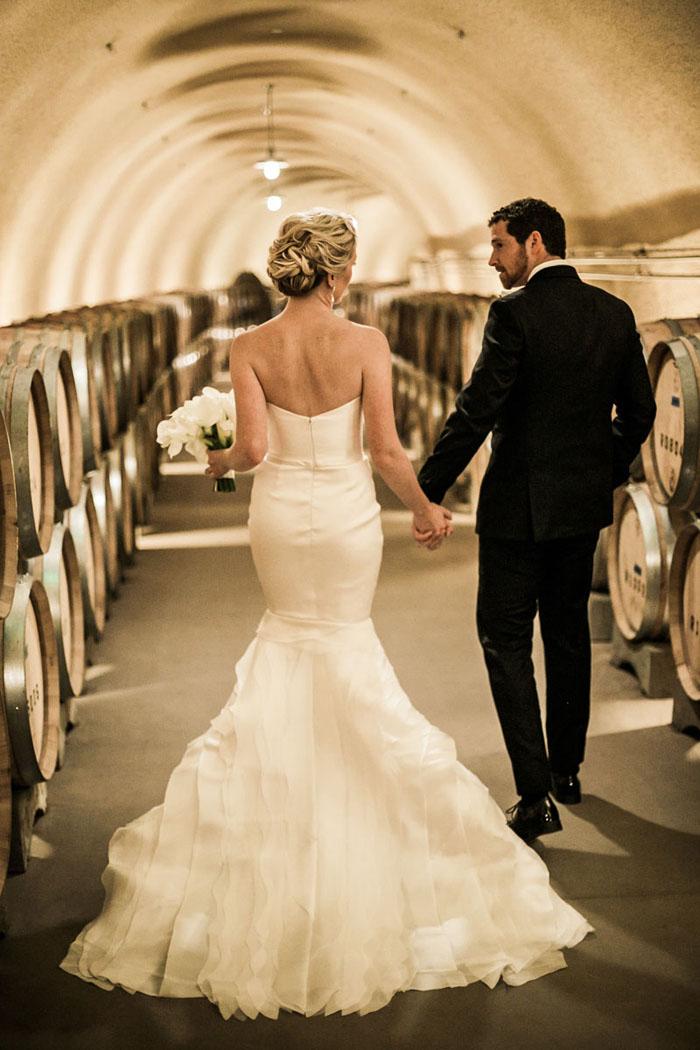 www.santabarbarawedding.com | Soigne Productions | Presqu'ile Winery | Wade Carr Photo | Bride and Groom