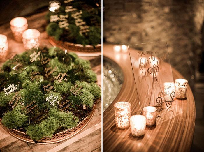 www.santabarbarawedding.com | Soigne Productions | Presqu'ile Winery | Wade Carr Photo | Escort Cards | Reception Details