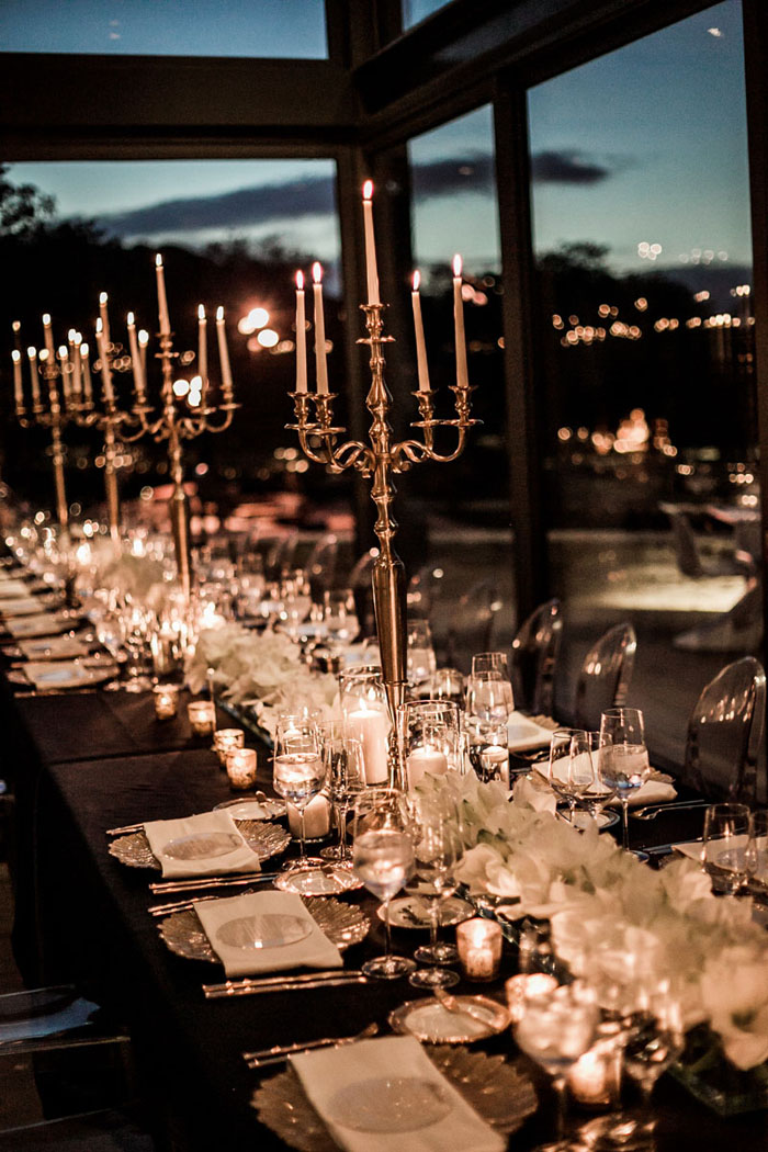 www.santabarbarawedding.com | Soigne Productions | Presqu'ile Winery | Wade Carr Photo | Reception Table