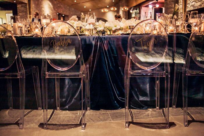 www.santabarbarawedding.com | Soigne Productions | Presqu'ile Winery | Wade Carr Photo | Reception Chairs
