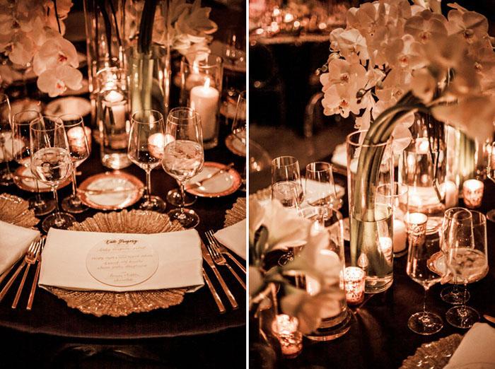 www.santabarbarawedding.com | Soigne Productions | Presqu'ile Winery | Wade Carr Photo | Place Setting