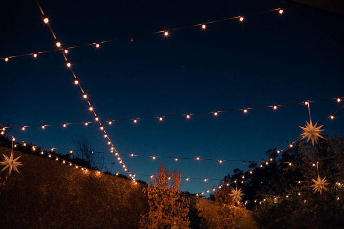 www.santabarbarawedding.com | Soigne Productions | Presqu'ile Winery | Wade Carr Photo | Reception Lighting